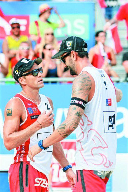 Medaille verpasst: Clemens Doppler und Alexander Horst.