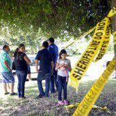 Mann erschießt acht Menschen in Texas