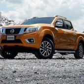 Nissan hat den Pick-up Navara erneuert