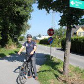 Lückenschluss bei Radweg
