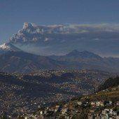 Ecuador fürchtet sich vor Vulkan Cotopaxi