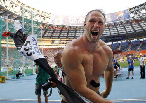 Olympiasieger Robert Harting nützt YouTube für seine Kritik.