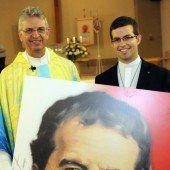 Ein Praktikant auf dem Weg zum Priester