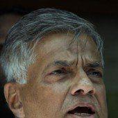 Regierungschef in Sri Lanka gewinnt Wahlen