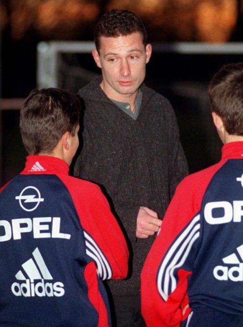 Stephan Beckenbauer als Bayern-Nachwuchstrainer.