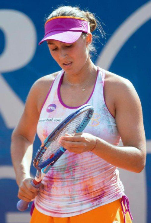 Tamira Paszek verlor nach 2:09 Stunden Spielzeit.