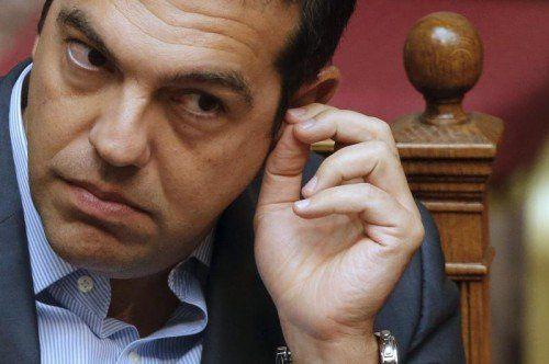 Tsipras stellt sich der Vertrauensfrage.