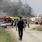 Tote nach Explosion in Feuerwerksfabrik