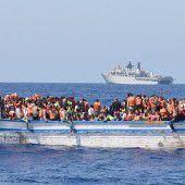 Flüchtlingsboot gekentert