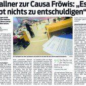 Staatsanwalt ermittelt seit Jänner gegen Georg Fröwis