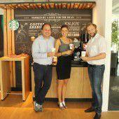 Starbucks-Kaffee bei Russmedia