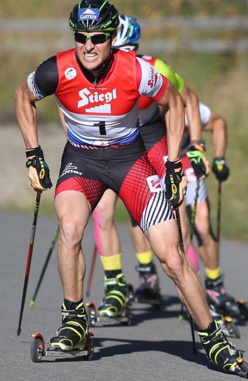 Weltmeister Bernie Gruber (Bild) triumphierte in Oberwiesenthal zusammen mit Harald Lemmerer im Teamsprint.
