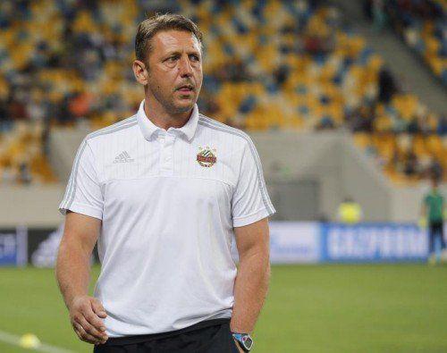 Zufrieden mit der Auslosung: Rapid-Coach Zoran Barisic.