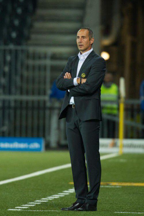 Adi Hütter feierte einen erfolgreichen Einstand bei YB Bern.