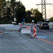 Seitenwechsel bei der Brückensanierung