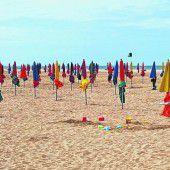 Der Strand in Deauville