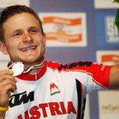 WM-Gold für Mountainbiker Federspiel