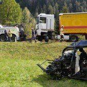 Vorarlberger Mutter bei Kollision auf Reschenbundesstraße getötet