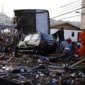Erdbeben hinterlässt Spur der Verwüstung