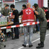 1600 Soldaten im Flüchtlings-Einsatz