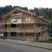 Arbeiten an Bauprojekt in Lech gehen ins Finale
