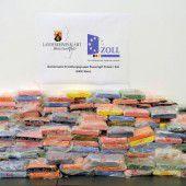 Rekordfund von 300 Kilo Kokain am Rhein