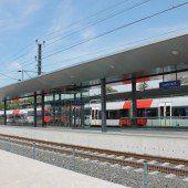 Bahnhof bereit für Eröffnung