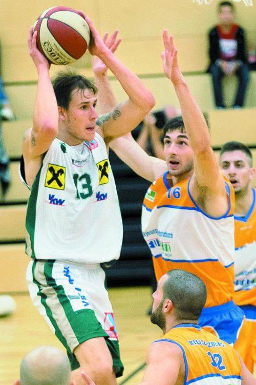 Der Ex-Salzburger Fabio Thaler brachte es auf neun Punkte.