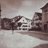 Vorarlberg einst und jetzt. Leutbühel in Bregenz
