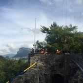 Hohenemser strickten 600 Meter langen Schal