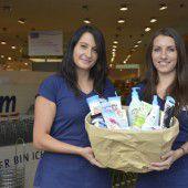 Drogeriemarkt-Kette spendet Hygienepakete