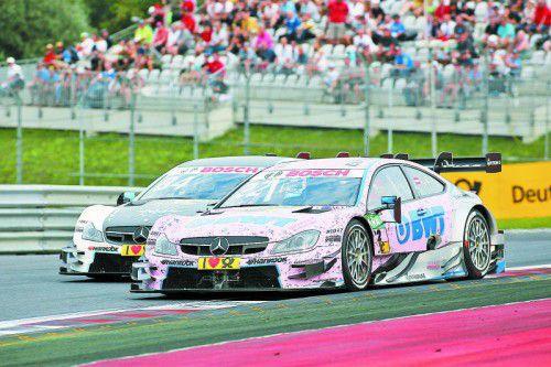 Die erste DTM-Pole und weitere acht Punkte für Rang sechs gab es für Lucas Auer.