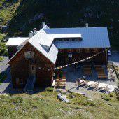Eine Berghütte in Bestlage