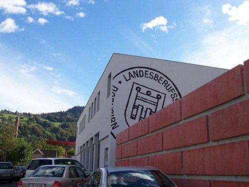 Die Landesberufsschule Dornbirn 1 wird erweitert und umgebaut.