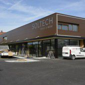 Neues Firmengebäude für Soltech in Lustenau