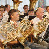 Letztes Konzert der Militärmusik in Nenzing