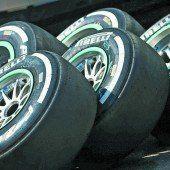 FIA verteilt die Reifensätze