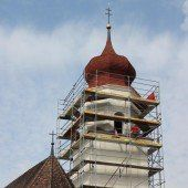 St. Anna in Thüringen mit neuem Kragen