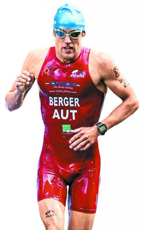 Dominik Berger (32) belegte 2013 bei der Ironman-WM auf Hawaii den 29. Rang in der Profiklasse.