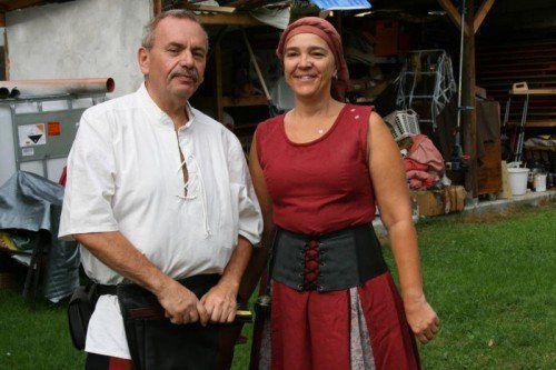 Egon Rusch und seine Frau Andrea sind zu Taranis und Zachin geworden. VN/hrj