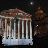 Flammen, Blitz und Donner im alten Rom
