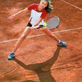 Ein heller Stern am Tennishimmel