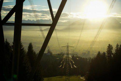 Das kräftigste reale Wachstum erzielte im vergangenen Jahr der österreichische Energiebereich mit 10,3 Prozent. VN/hartinger