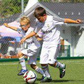 Königliches Fußballcamp