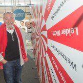 Peter Rapp auf der Dornbirner Herbstmesse