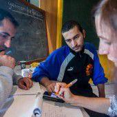 In Götzis werden die Asylwerber mit offenen Armen aufgenommen