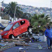 Schweres Beben in Chile