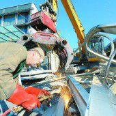 Bauarbeiten auf dem Dornbirner Messegelände haben begonnen