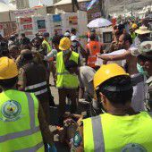 Katastrophe nahe Mekka: Hunderte Pilger bei Massenpanik getötet