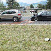 Auffahrkollision bei Autobahneinfahrt